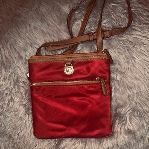 NWT MK Red Crossbody Bag!